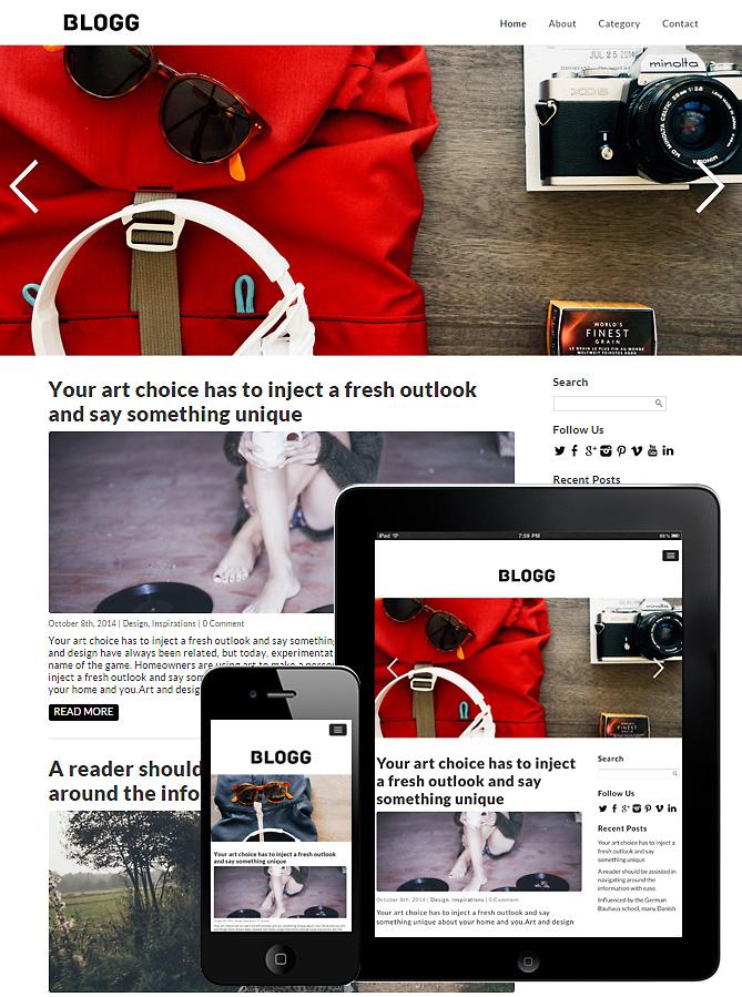 blogg-theme-wordpress