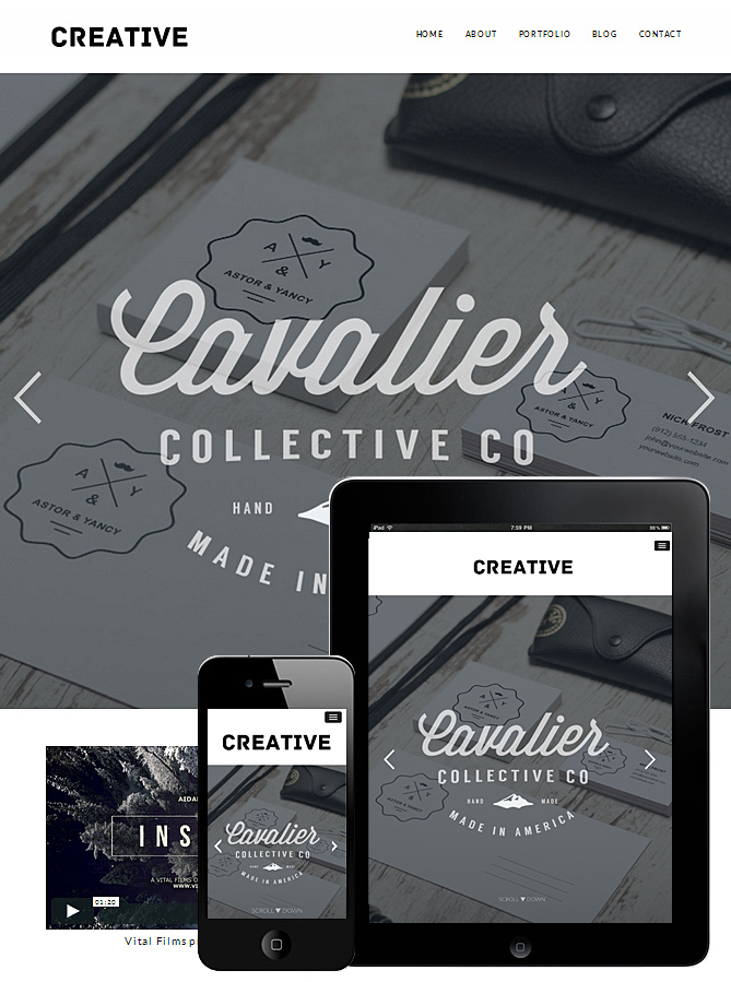 creative-portfolio-wordpress