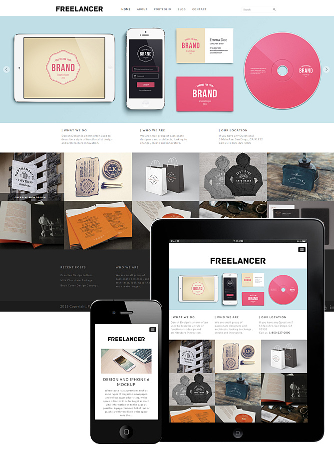 freelancer-theme-responsive