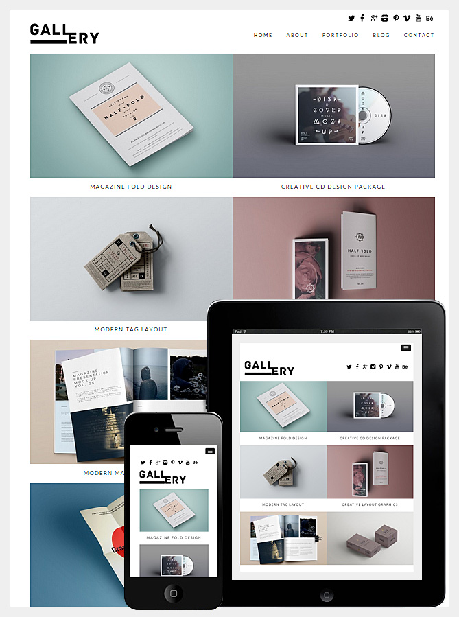 gallery-theme-wordpress