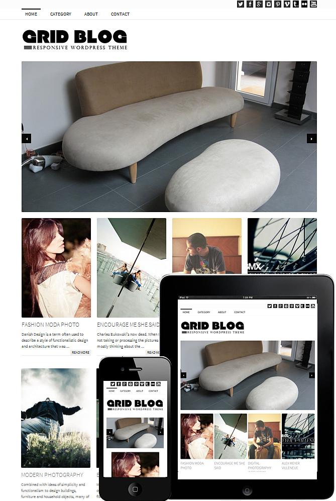 grid-blog-theme-wordpress
