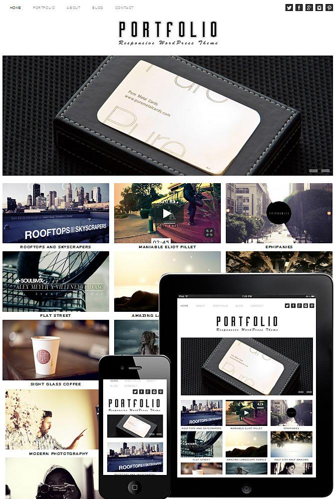 portfolio-theme-responsive