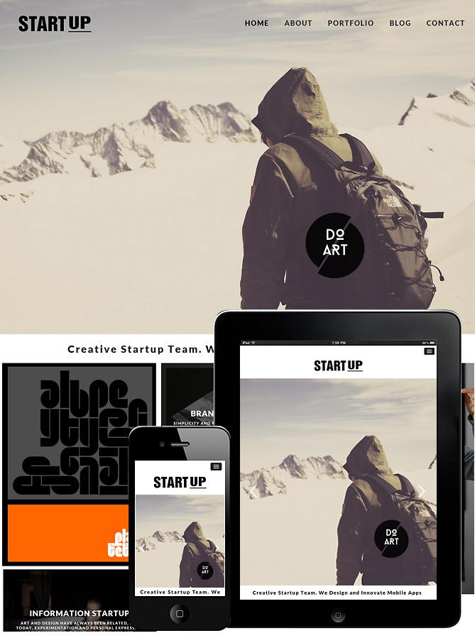 startup-responsive-theme