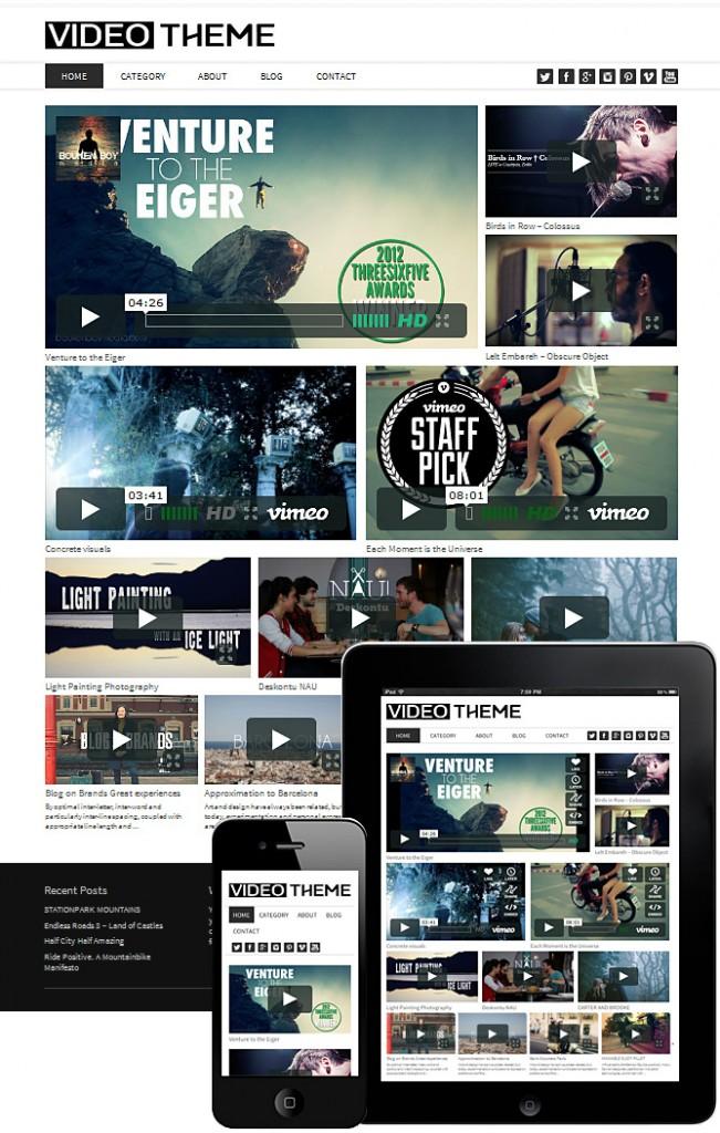 video-theme-wordpress