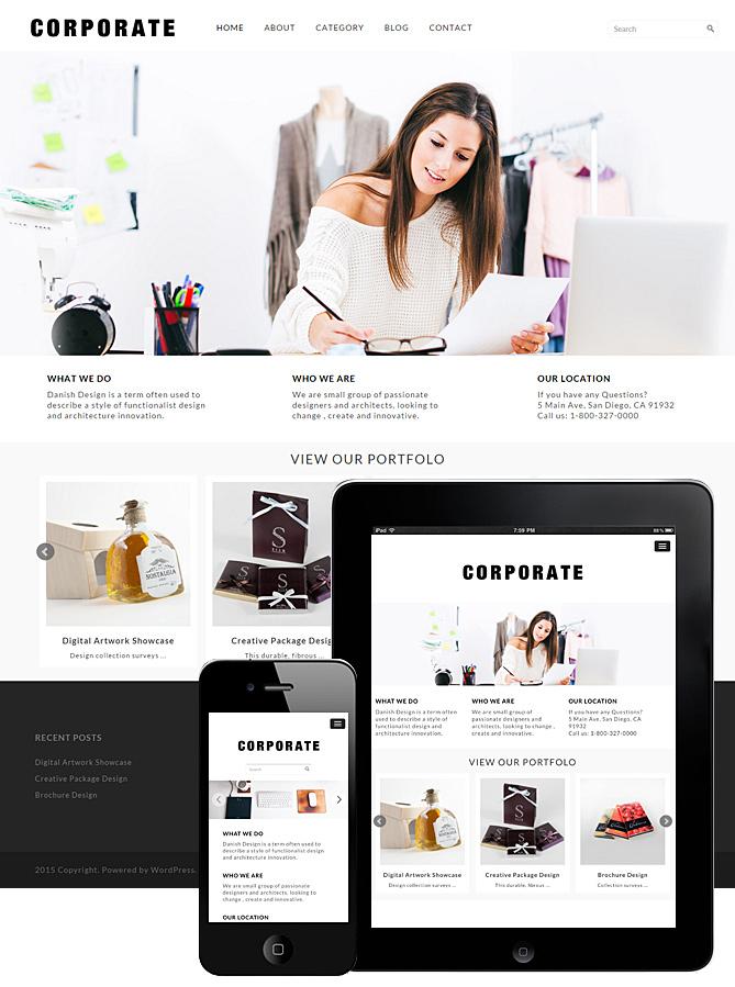corporate-theme-responsive-wordpress