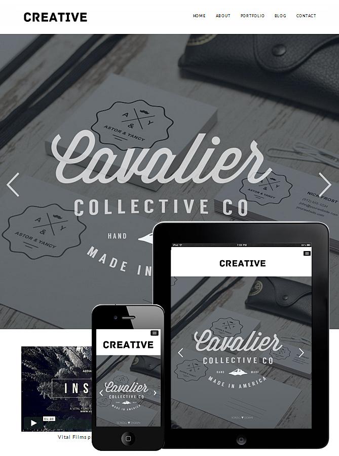 creative-portfolio-wordpress