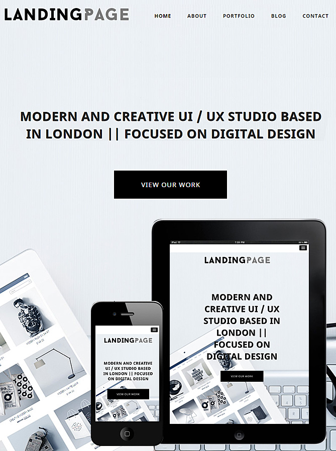 landing-page-theme-wordpress