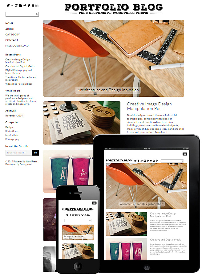 portfolio-blog-theme-responsive