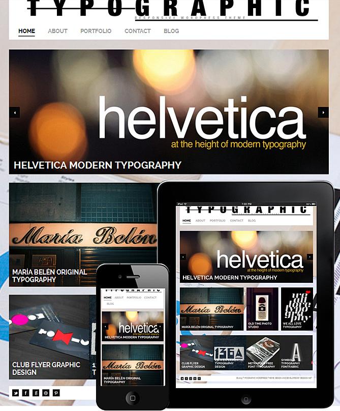 typographic-responsive-theme